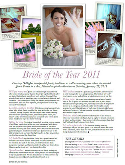 NZ Weddings Article Page 1
