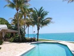 Maison de luxe Miami sur la plage