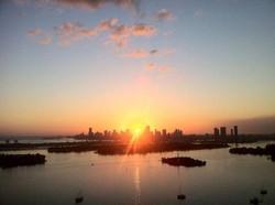 Coucher de soleil,Penthouse Flamingo