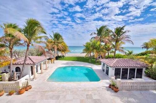 Maison de luxe Miami en bord d'ocean