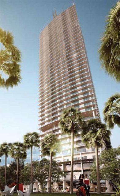 immobilier a miami, acheter a miami, 1100 Millecento Brickell condo by Pinifarina