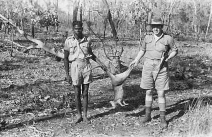 Hunting in the Northern Territory.