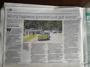 Worst highway junction just got worse