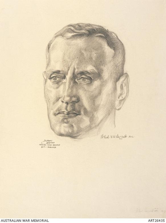 Lieutenant Colonel William Leggatt by Murray Griffin.