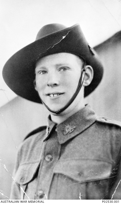 TX3350 Pte. Allan Clifford Chick