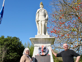 War memorial gets official listing as historic place