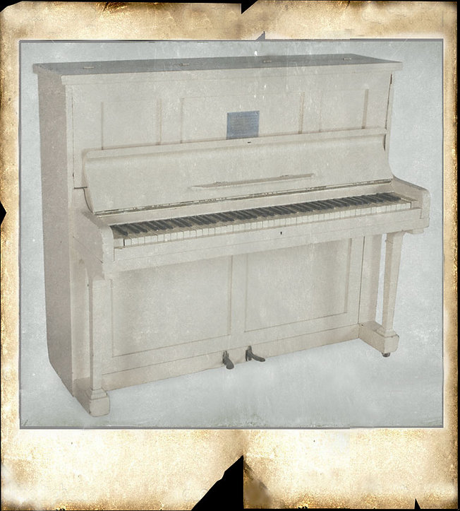 Short upright piano : Changi Concert Party