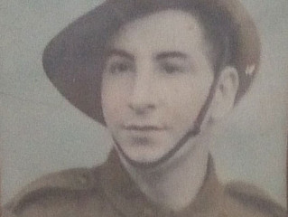 Cpl.William E. Garlick TX2759 - 4 Platoon (Carriers, HQ Co.) 2/40 Infantry Battalion