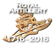 Click here to view the Royal Artillery Tercentenary website.