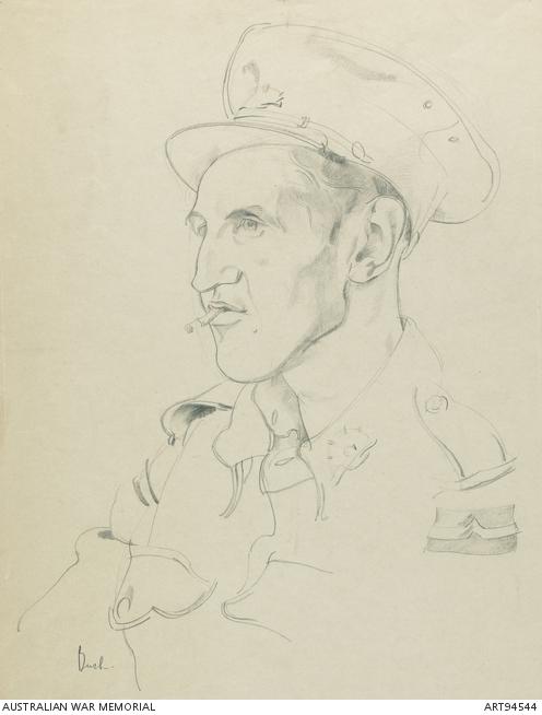 Unidentified Australian soldier