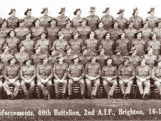 Reinforcements, 40th Battalion, 2nd A.I.F., Brighton, 16 December 1941