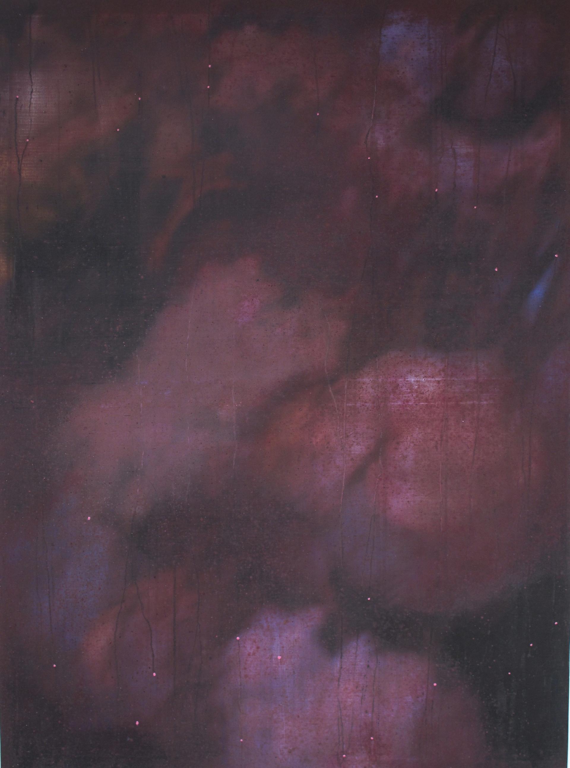 In Silence ( Memento Mori 1), Mixed media, 130x110cms, 2013