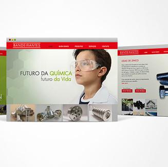 site Bandeirantes Galvânica