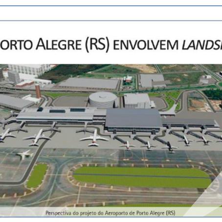 Projeto de melhorias da infraestrutura do Porto Alegre Airport