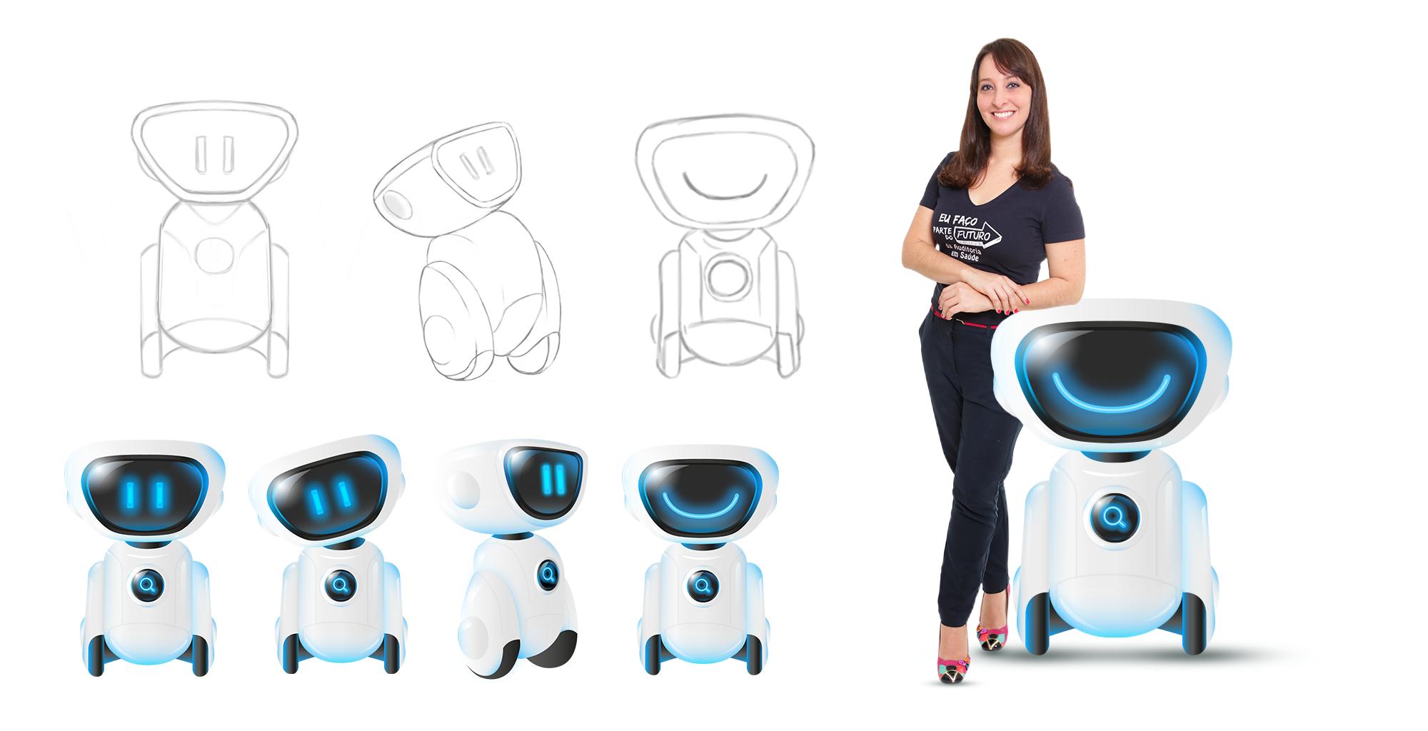 Criação de mascote para tecnologia   LRMG auditoria