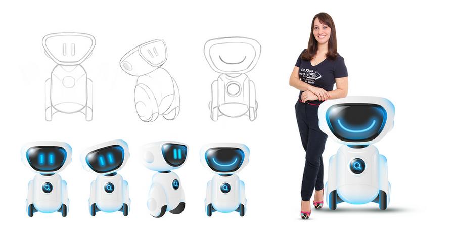Criação de mascote para tecnologia | LRMG auditoria