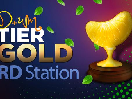 Agência de marketing digital Dmais 1 conquista o tier gold RD STATION!