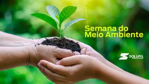 Ajudamos a preservar a natureza e a qualidade do ar que respiramos.