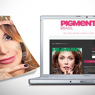 Site e-commerce para venda de revista segmentada