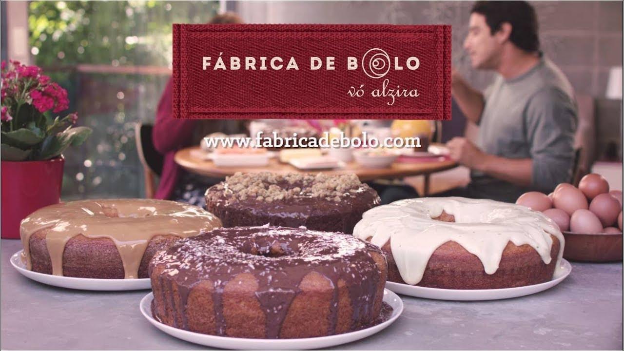 Vídeo Coisinha de Vó institucional da Fábrica de Bolo Vó Alzira