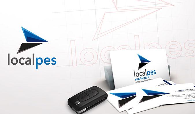 Logotipo para locadora de automóveis   Localpes