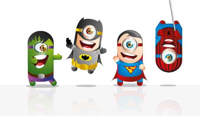 Criação de personagens para licenciamento de produtos | AZ DESIGN