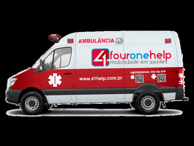 Identidade visual para empresa de ambulância   41 Help