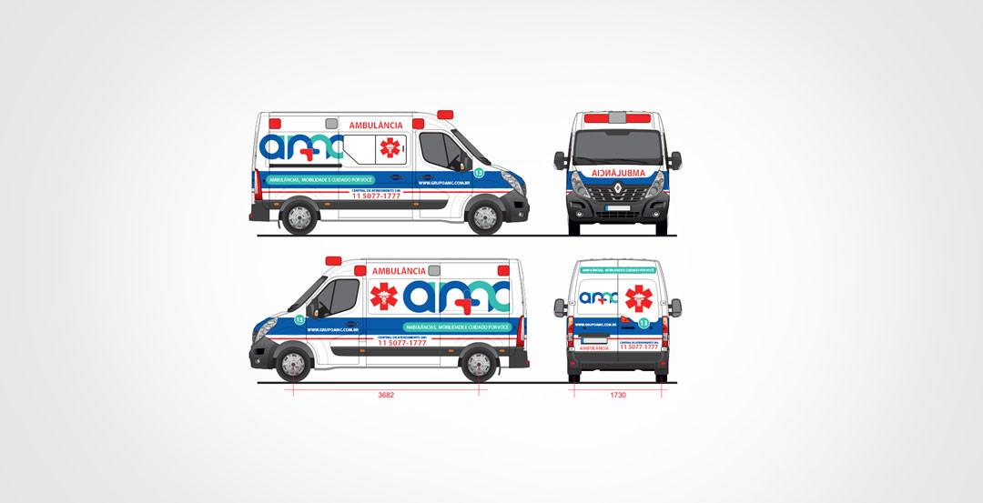 Design técnico para ambulâncias