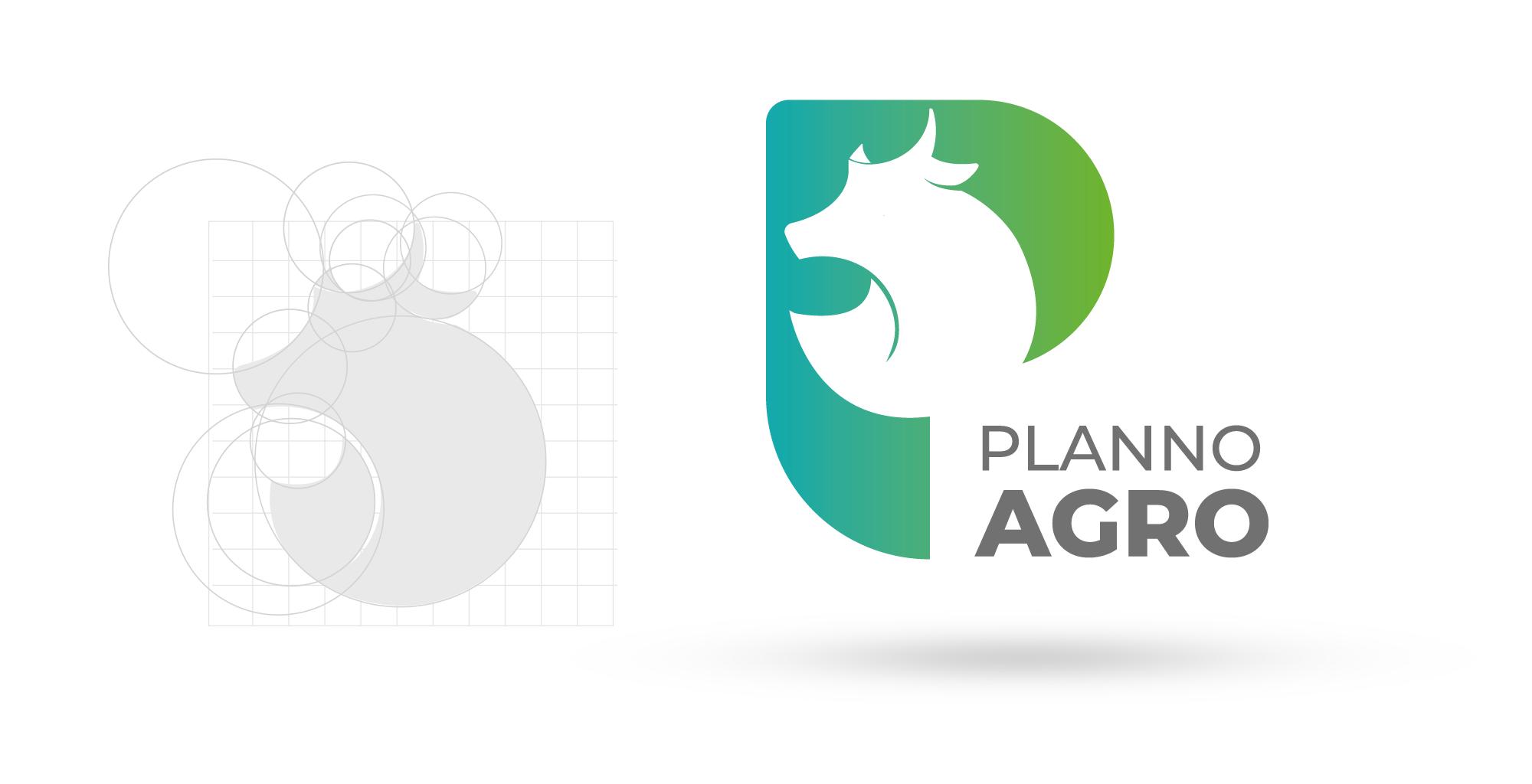 criação de logotipo para Agro Negócio   Planno Agro