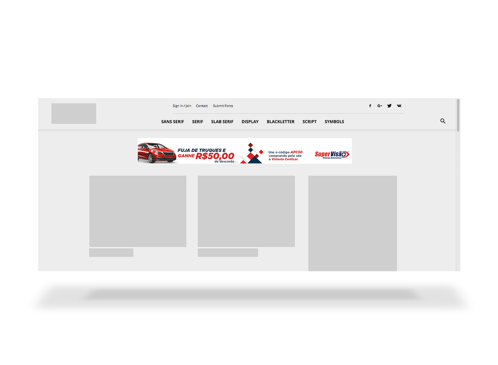 Desenvolvimento de banner digital para rede de franquias
