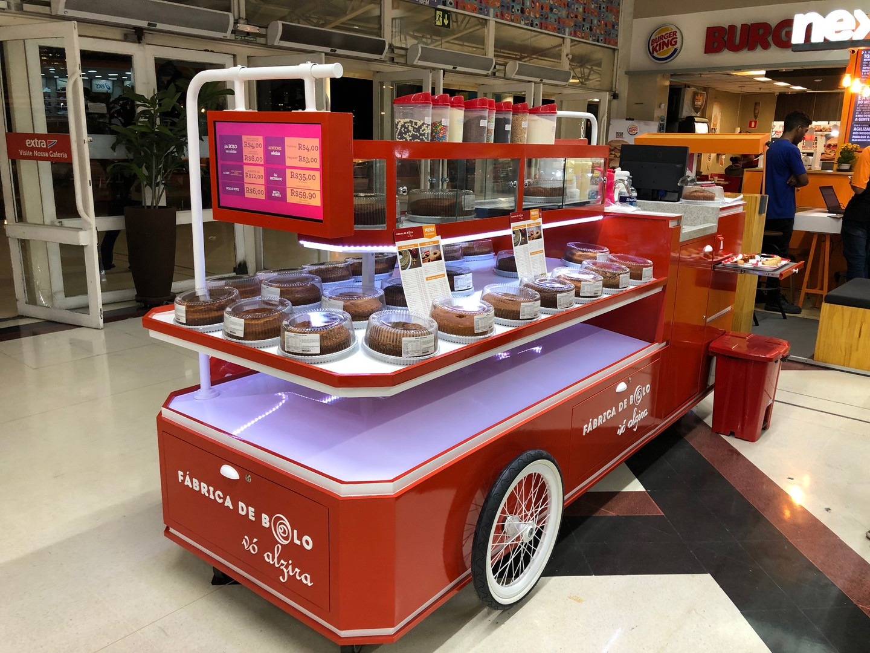 Franquia de Quiosque de venda de bolo caseiro