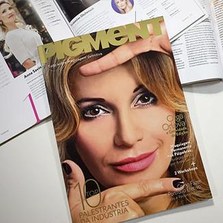 Tradução e diagramação da revista russa Pigment Brasil