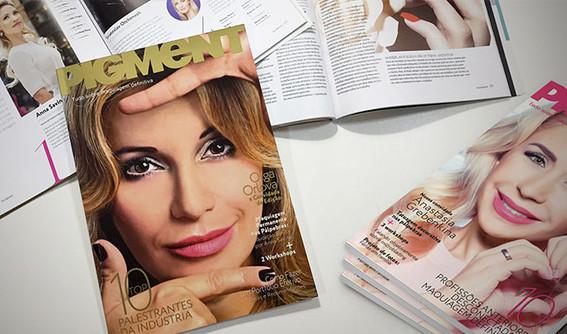 Editoração e diagramação de revista segmentada | Pigment Brasil