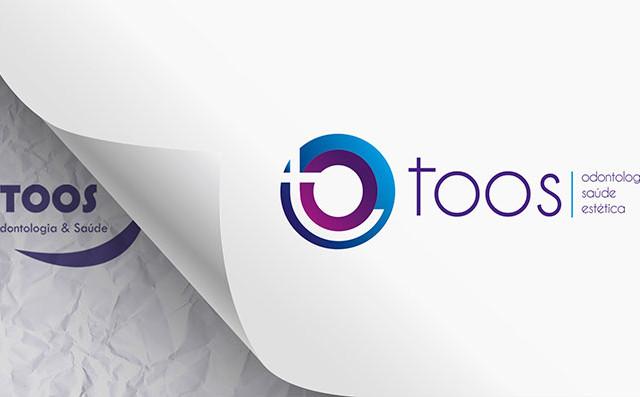 Redesenho de logotipo para Clínica Toos