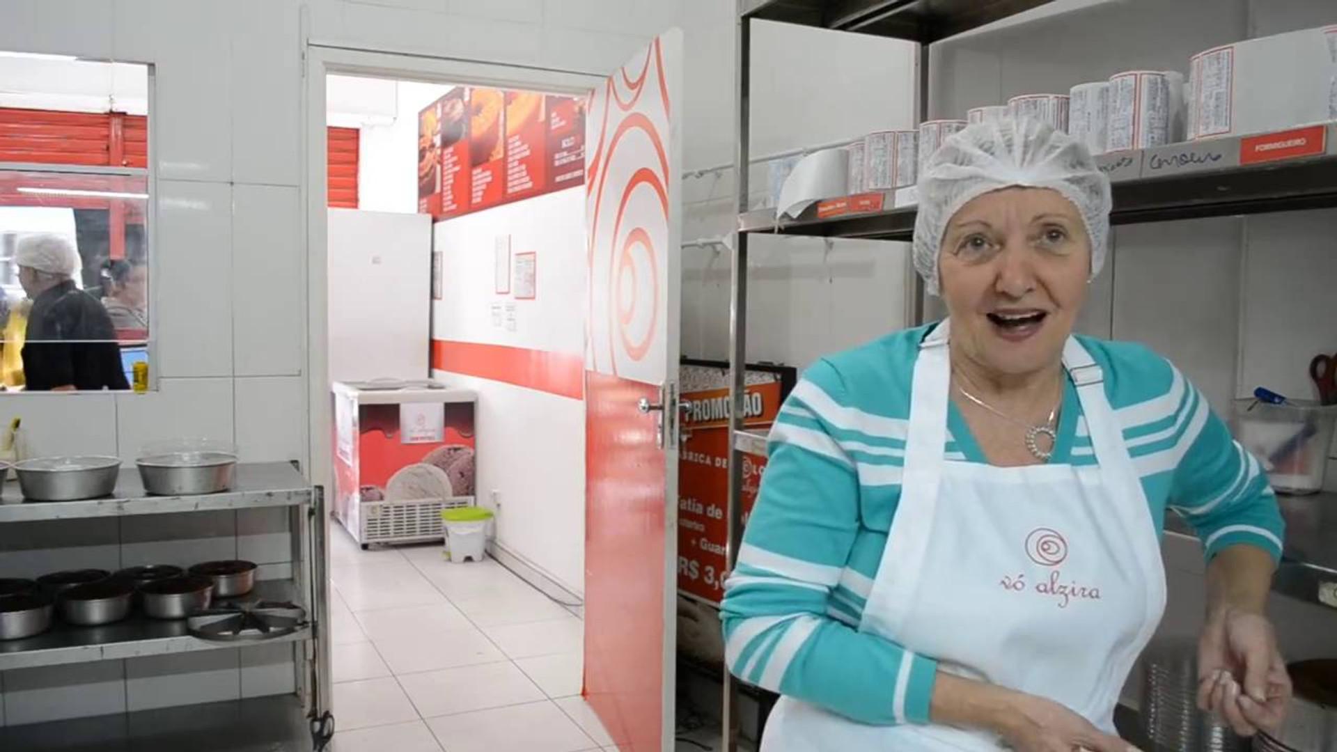 Vídeo institucional da Vó Alzira Fábrica de bolos
