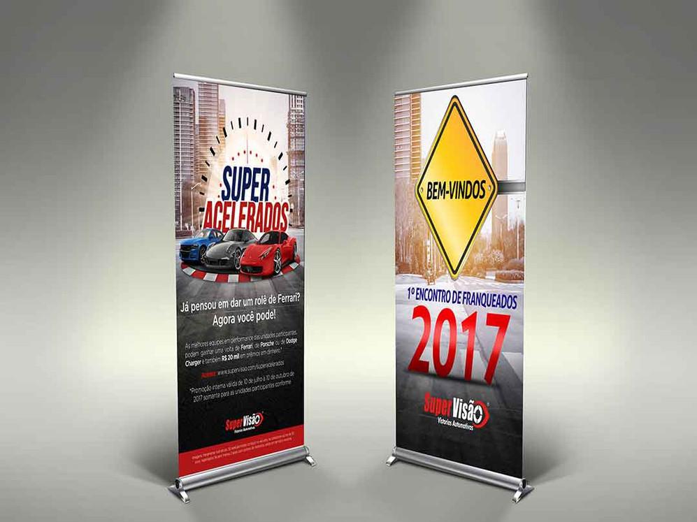 Criação de banners para campanha de vendas para rede de franquias