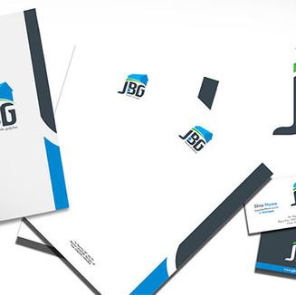 Papelária e marca JBG locação de galpões