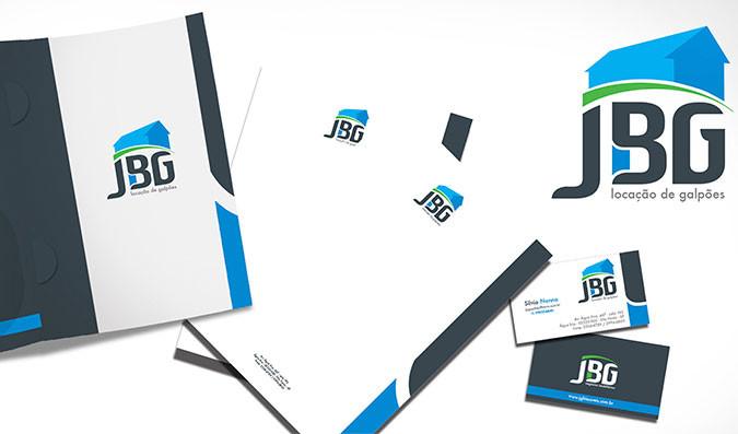 Logotipo para empresa de Gestão imobiliária   JBG