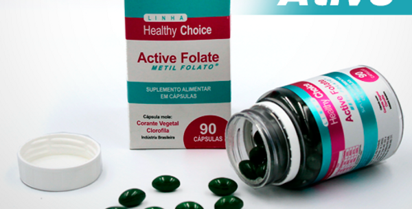 Active Folate - 90 Cápsulas
