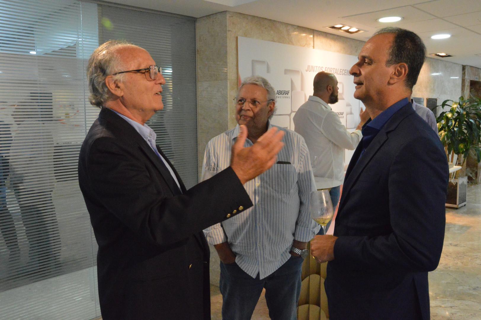 Guido Raccah e Elvio Filho Festa de Conf