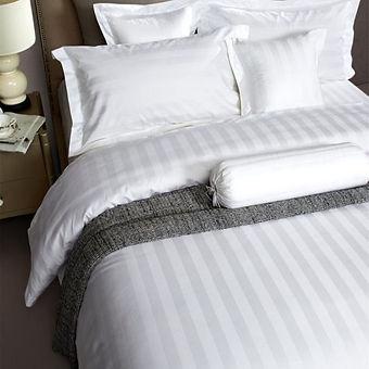 Egyptian Cotton Stripe Sheets