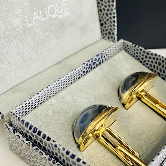 Boutons de manchettes Lalique
