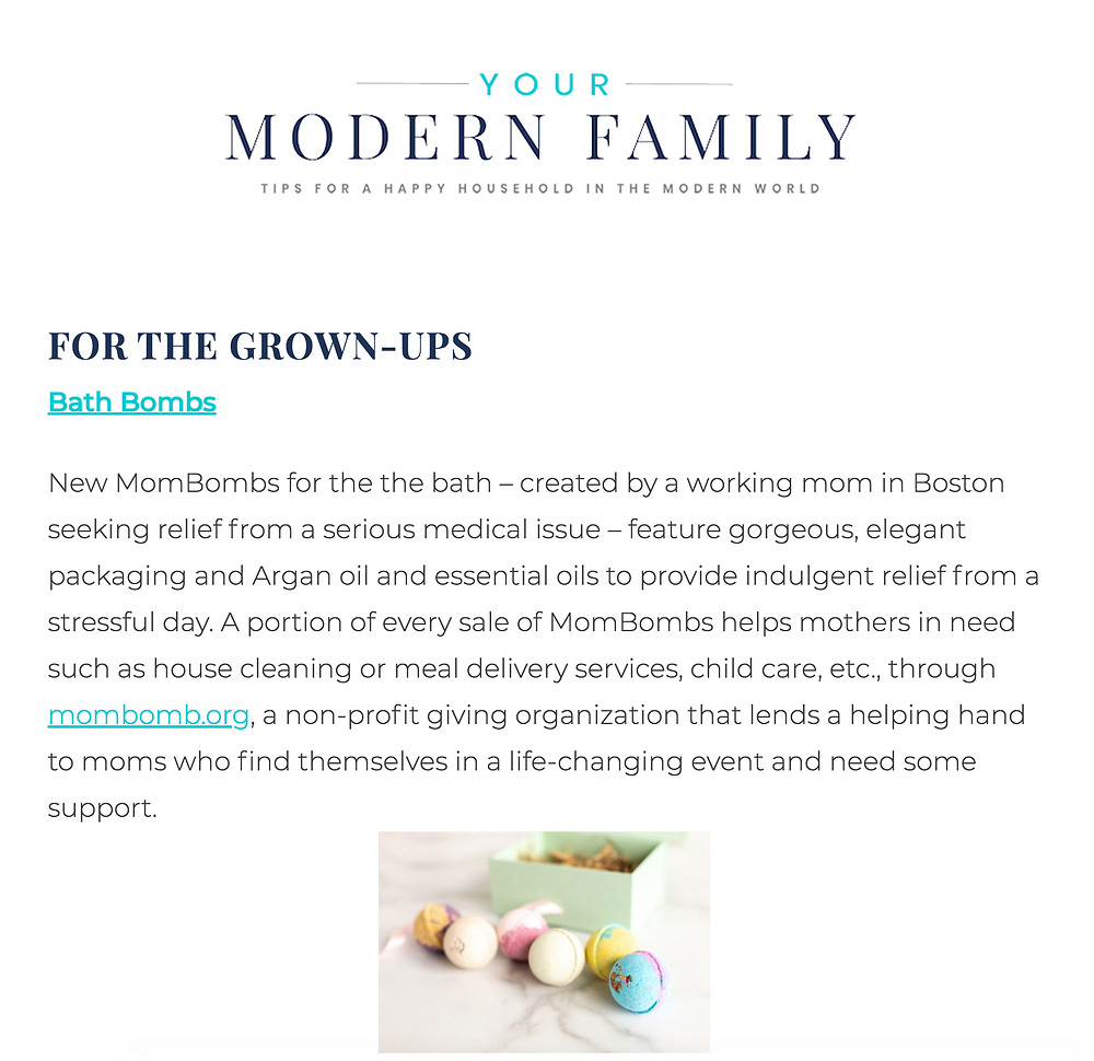 For the Grown Ups - Mom Bomb Bath Bombs