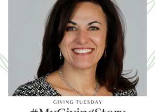 #MyGivingStory Series: Chapter 3 - Our Vice President Maria Addario-Alter