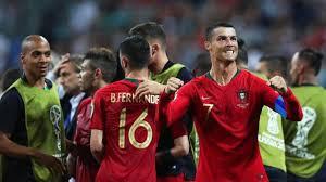 Ronaldo, het gezicht van een winner