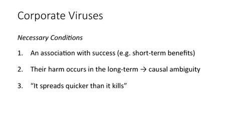 Freek Vermeulen over het Corporate Virus