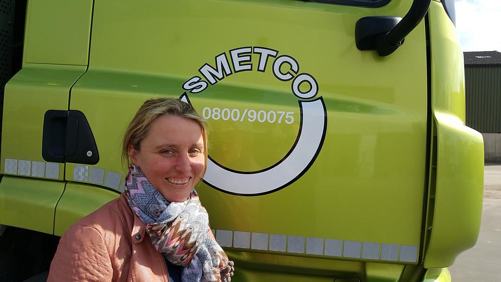Smetco's HR-Manager Evy Huyghe