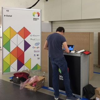 Xetal at the 2016 Makers Town