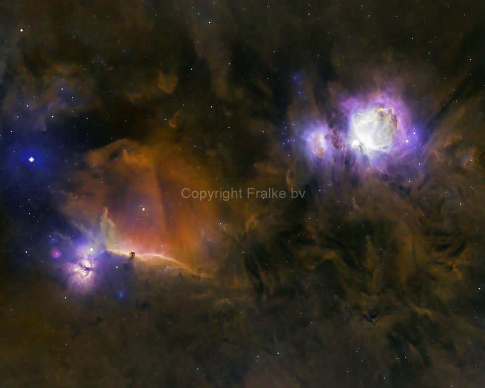 Inside M42 Orion Nebula