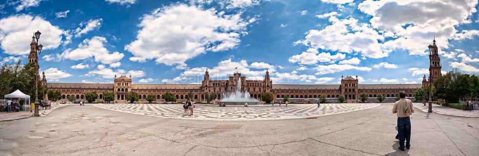 Plaza d' Espana, Sevilla, Spain